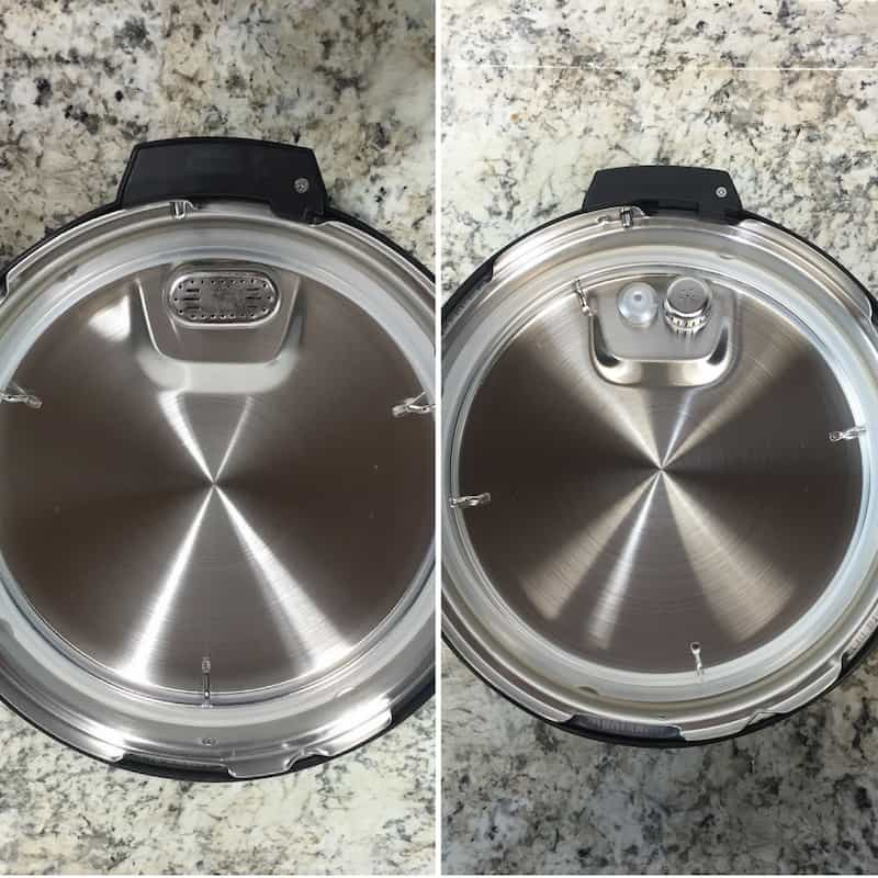 Instant Pot Setup: Lid Comparison