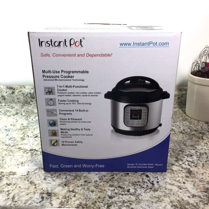 Instant Pot in Box