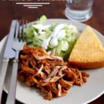 Pressure Cooker Pulled Chicken. Comes together in minutes in your Instant Pot or electric electric pressure cooker.