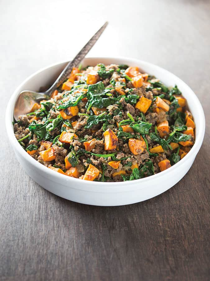 Sweet Potato Hash Recipe. This easy recipes makes a healthy hash that's great for breakfast or dinner. | Paleo | Gluten-Free | Whole30