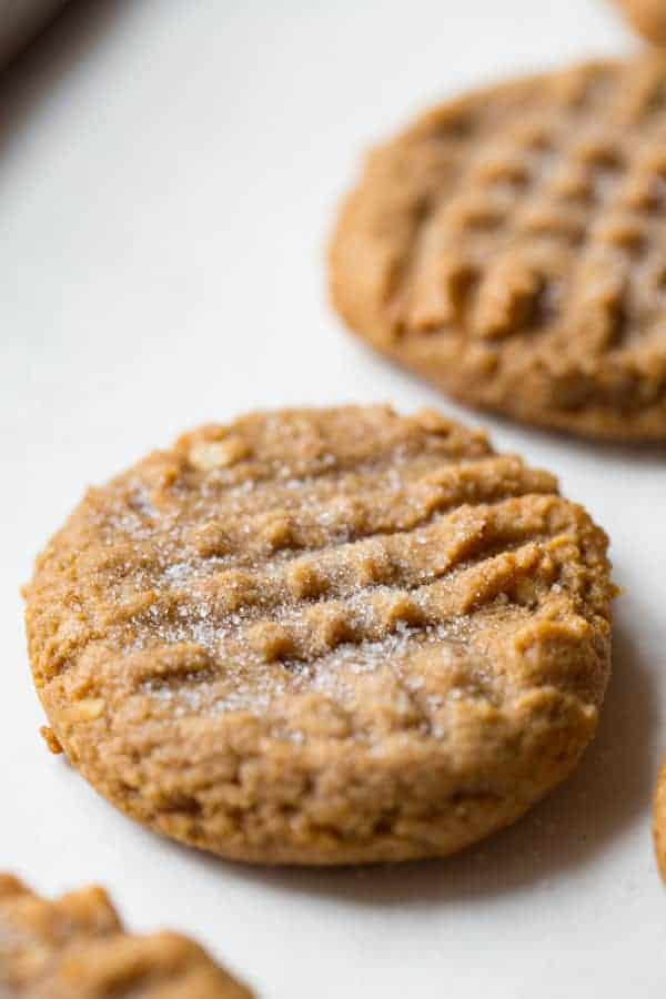 3 Ingredient Peanut Butter Cookies with Brown Sugar | Easy to Make |