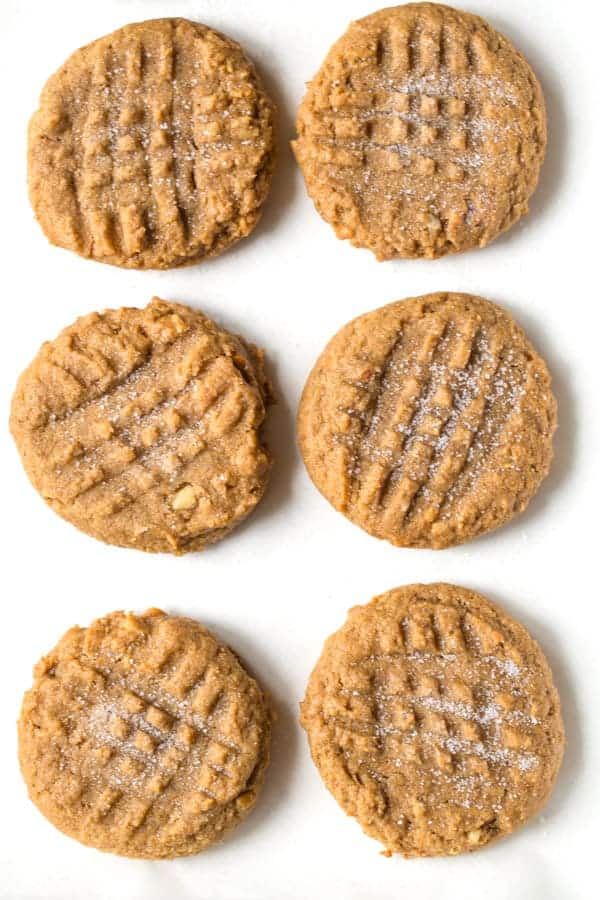 3 Ingredients Peanut Butter Cookies | Brown Sugar and Chocolate Chips