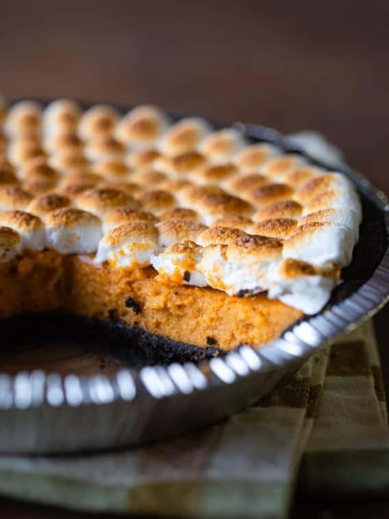 Pumpkin S'more pie.