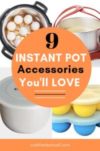 Text on Image: 9 Must-Have Instant Pot Accessories.