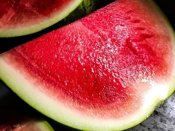 Sliced Red Watermelon.