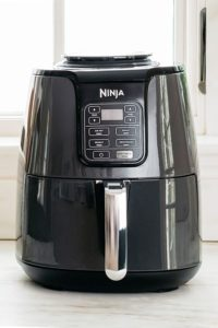 Ninja Air Fryer on kitchen counter.